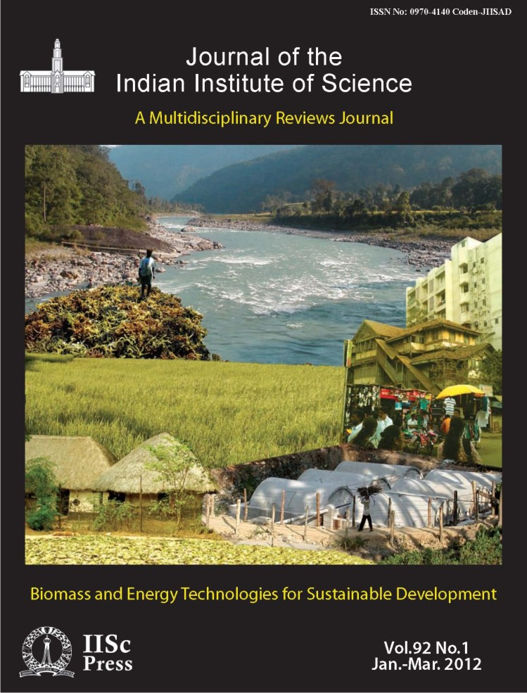 (Jan.-Mar. 2012) Biomass and Energy Technologies for Sustainable Development